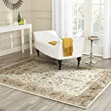 Safavieh Vintage Premium Collection VTG168-3450 Transitional Oriental Stone and Caramel Distressed Silky Viscose Area Rug (8′ x 11'2″) Review