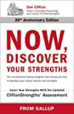 Now, Discover Your Strengths: The revolutionary