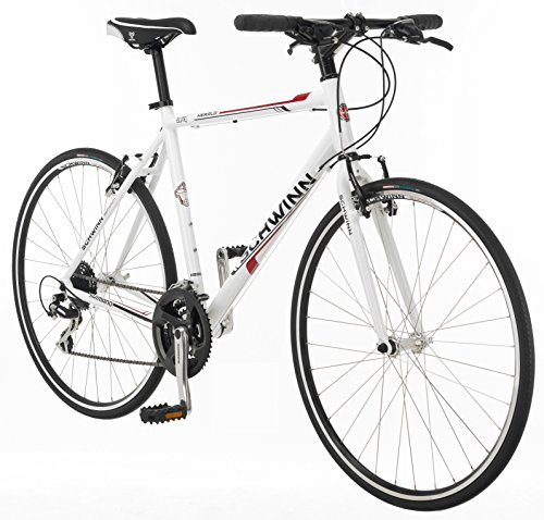 Amazon.com : Schwinn Herald 2.0 Men\'s 700c Flat Bar Road Bike ...