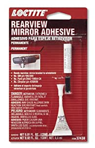 Loctite 37438 Rearview Mirror Adhesive Kit , 0.3 cc