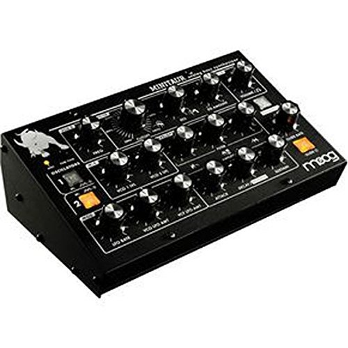 Moog TBP002 Minitaur Bass Table Top Synthesizer - Black with updated Firmware