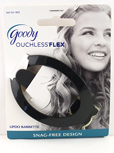 Goody Ouchless Comfort Flex Updo Hair Barrettes