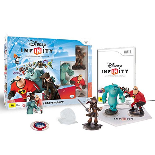 DISNEY INFINITY Starter Pack Wii (Disney Infinity Console Wii compare prices)