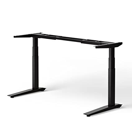 Awesome Jarvis Standing Desk Frame Only Electric Adjustable Height Sit Stand Desk 3 Stage Extended Range Frame With Memory Preset Handset Controller Home Remodeling Inspirations Propsscottssportslandcom