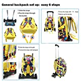 Backpack Trolley - Wheeled Trolley Hand Aluminium