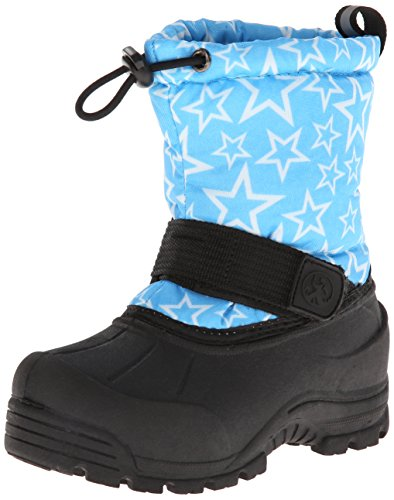 Northside Frosty Winter Boot ,Turquoise/White,1 M US Little