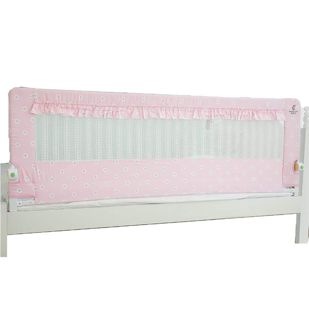 ベッドフェンス- 幼児用の1.5cmのエクストラロングベッドレールガード、キングサイズのベッド折りたたみ式のベッドフェンス用の68cmの高さのベッドレール   B07KPT8GQ5