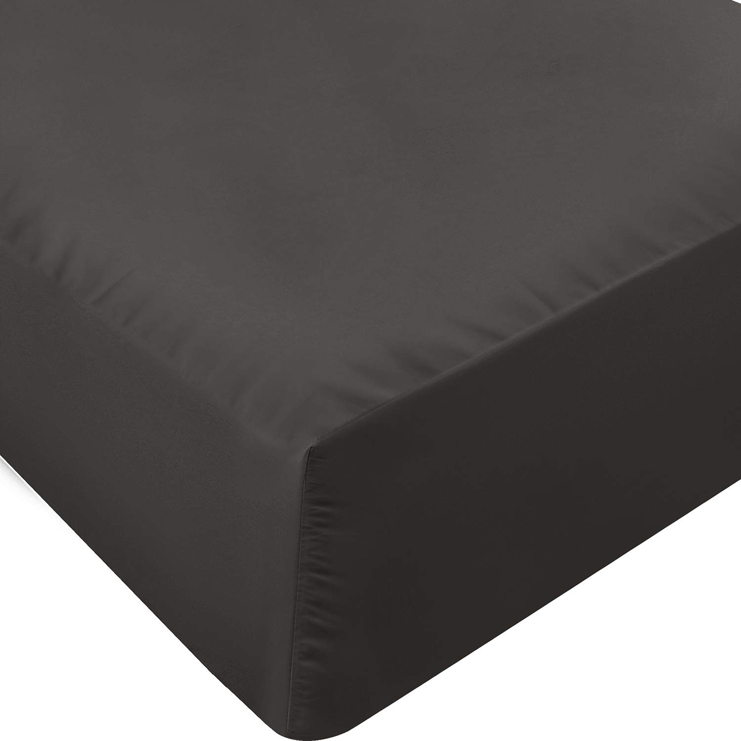 Utopia Bedding Queen Fitted Sheet (Dark Grey)