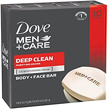 10-Pack Dove Men+Care Body and Face Bar