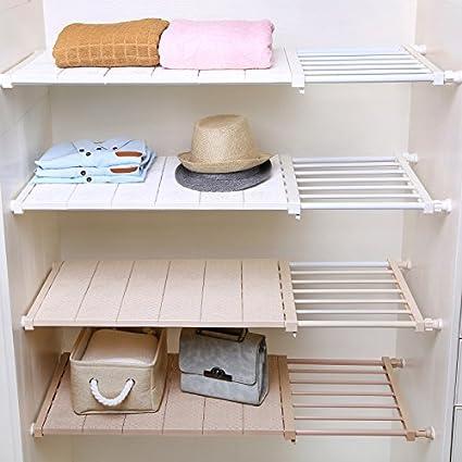 Merveilleux APSOONSELL Ajustable Shelf Closet Storage Rack Organizer, Expandable Closet  Shelf Space Saver Racks For Kithchen
