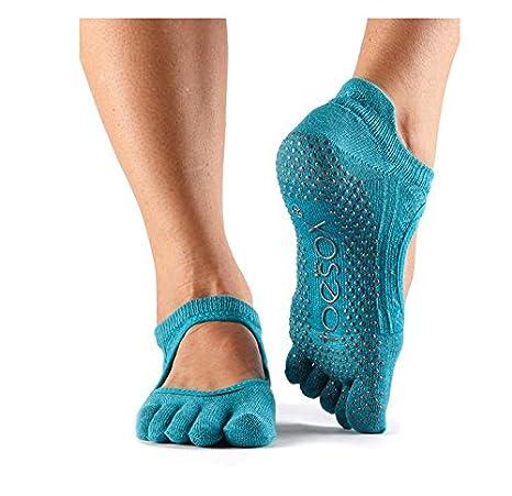 Calcetines Bellarina de ToeSox con puntera y agarre, calcetines para danza, barra, yoga
