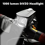 Super Bright Bicycle Front Light 1260 Lumen Cree LED Headlight Flashlight...