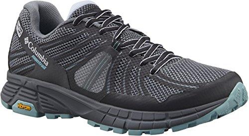 Columbia Mojave Trail Outdry, Zapatillas de Running para Asfalto para Mujer, Grey Ash/Iceberg Grey Ash, Iceberg