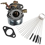Anzac 640260A Carburetor with carb cleaning kit replaces Tecumseh 640260B 640023 640051 640140 640152 for Tecumseh HM80 HM90 HM100 LH318XA LH358EA Snow Blower carb