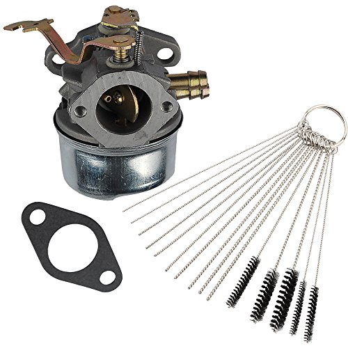Anzac 640260A Carburetor with carb cleaning kit replaces Tecumseh 640260B 640023 640051 640140 640152 for Tecumseh HM80 HM90 HM100 LH318XA LH358EA Snow Blower carb by Anzac