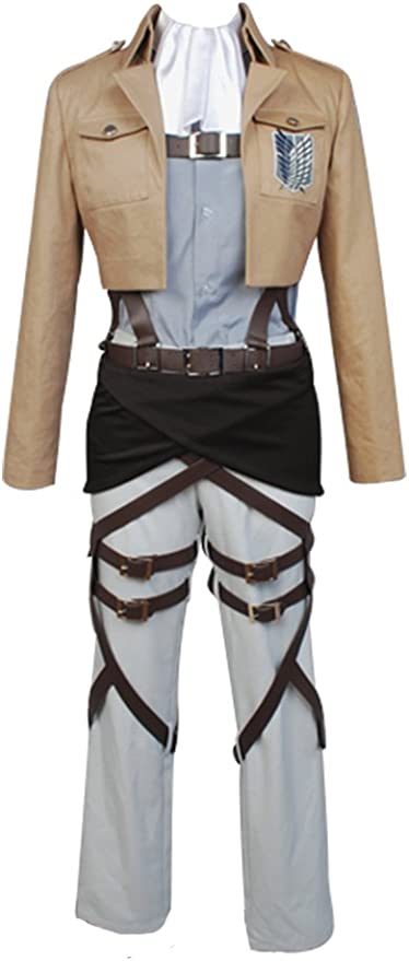 Disfraz de cosplay de legión de reconocimiento, Shingeki no Kyojin ...