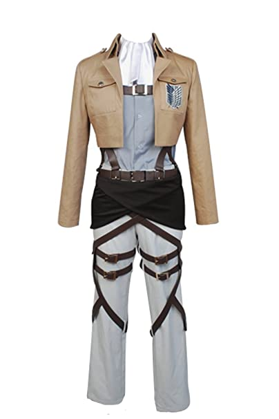 Disfraz de cosplay de legión de reconocimiento, Shingeki no Kyojin (Ataque a los titanes), para adulto, de la marca Daiendi: Amazon.es: Ropa y accesorios