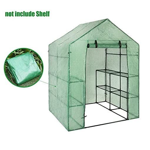 walk in greenhouse replacement cover
