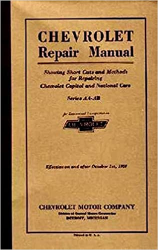1927 chevrolet car truck repair shop manual original gm chevy 1927 chevrolet car truck repair shop manual original gm chevy chevrolet truck pickup amazon books fandeluxe Choice Image