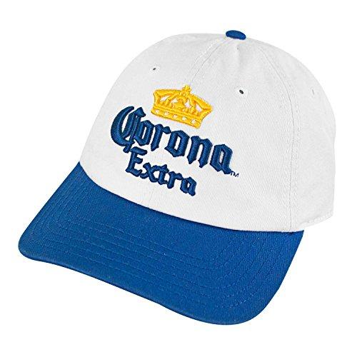 Corona Beer Baseball Cap - Corona Extra Cerveza Classic Blue Baseball Hat