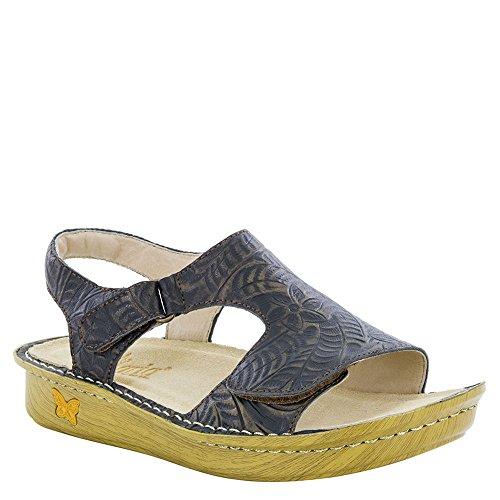 (Alegria New Women's Viki Strap Sandal Architexture Bronze 38)