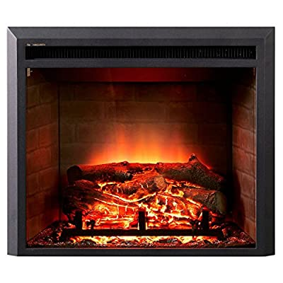 Dynasty Zero Clearance LED Electric Fireplace Insert