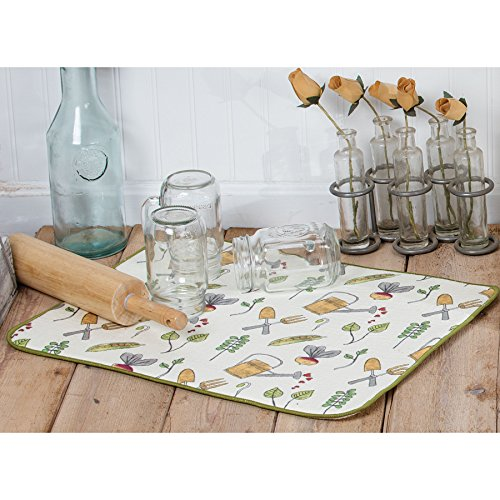 Kay Dee Designs A8998 Garden Notes Drying Mat