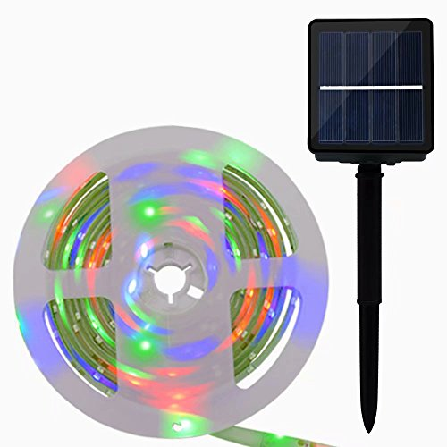 Solar Powered Outdoor Led Strip Lights in US - 6