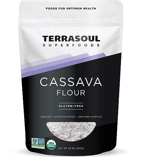 Terrasoul Superfoods: Organic Cassava Flour