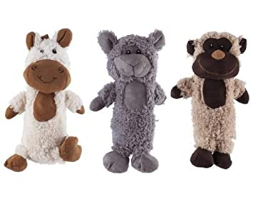 All For Paws AFP3101 Peluches de Animales para Perros Lam Dog