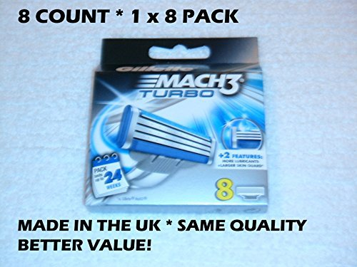 gillette-mach3-turbo-cartridges-8-count-sold-by-hero24hour-thank-you-by-hero24hour