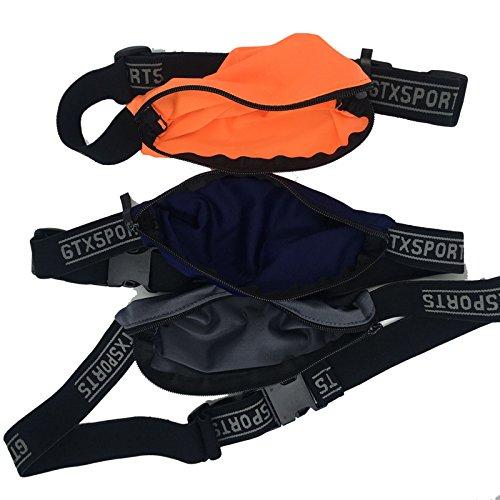 JUVV Outdoor Sports Pockets Belt Waist Pack Bag for Men Women