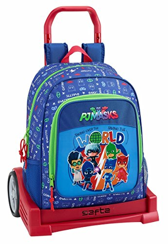 with P P Evolution Trolley J Backpack Masks