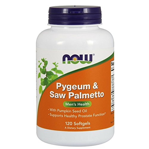 NOW Pygeum Saw Palmetto Softgels