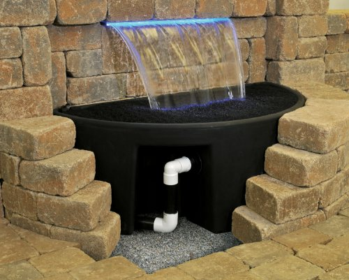 Atlantic Water Gardens Basin Kit for Formal Waterfall Spillways, for 24-inch Spillways by Atlantic Water Gardens (Image #1)