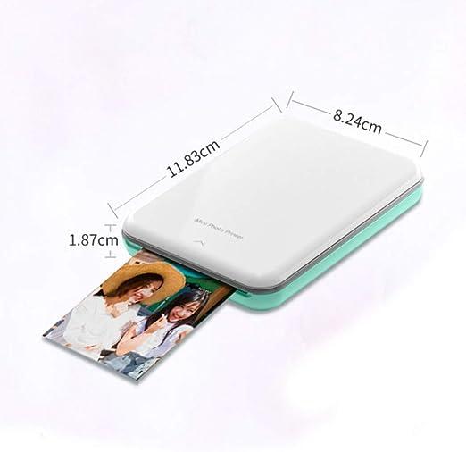 TINERS Impresora Térmica Bluetooth Portátil Mini Impresora ...