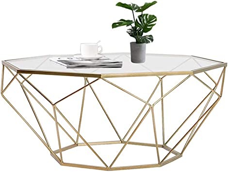 Coffee Tables Living Room Nordic Octagonal Gold Living Room Coffee