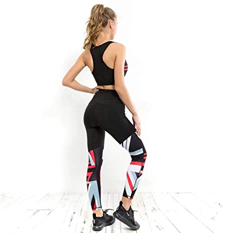Glhkkp-sp Mono Deportivo de Yoga para Mujer Moda Impreso ...