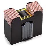 GSE Games & Sports Automatic Card Shuffler For Poker/Casino Games (Plastic; 6-Decks)