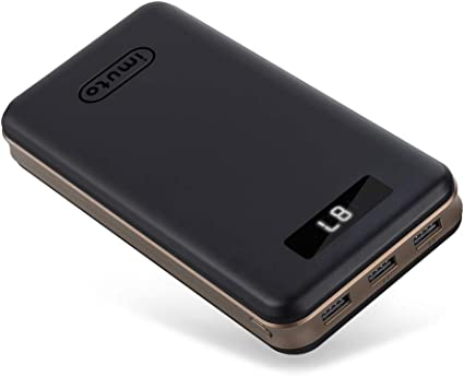 Amazon.com: iMuto 30000mAh Portable Charger External Battery ...