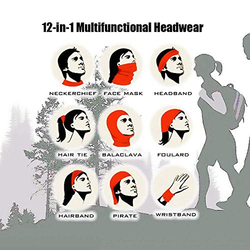 Avenge Super Heroes Balaclava Multifunctional Headband Scarves Windproof Sports & Casual Headwears