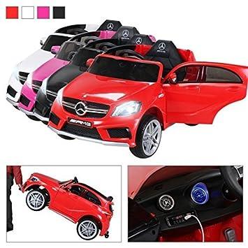 Mercedes-Benz Kinder Elektro Auto Kinderauto Kinderfahrzeug Elektrofahrzeug rot Kinderfahrzeuge