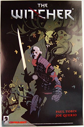 The Witcher SDCC Comic Con 2014 11 x 17 Dark Horse Poster