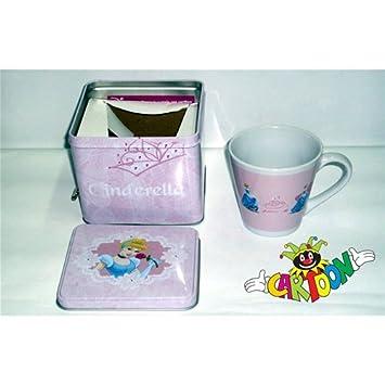 Céramique Pi Principess Mug Conique Avec Boîte Carion 3FJuT1c5lK
