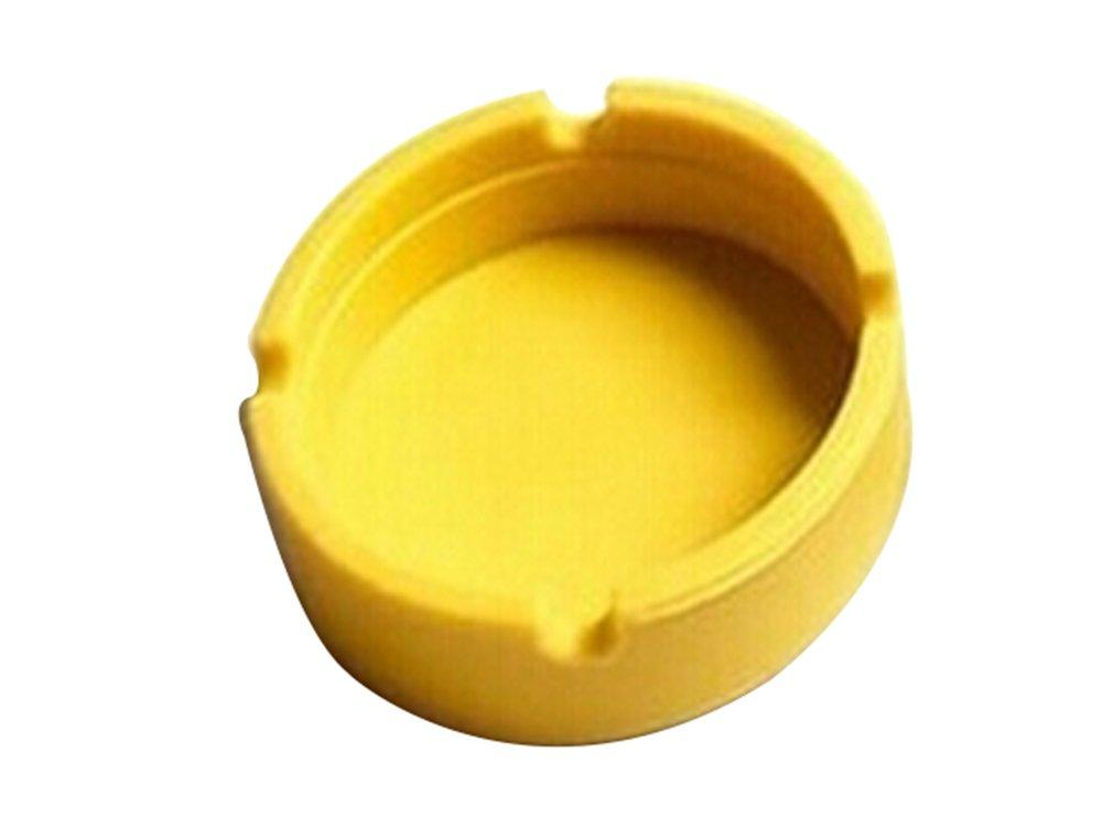 Cdet Ceniceros de silicona soft eco-friendly pocket ronda shatterproof cigar cinturón de goma de silicona para hombre, Negro