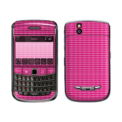 Exo-Flex Protective Skin for BlackBerry Bold 9650 - Pink Pad