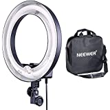 Neewer Camera Photo Dimmable 14 inches/36 centimeters Outer 10 inches/25 centimeters Inner Continuous Lighting Ring Light for Portrait,Photography YouTube Vine Video Shooting,50W(400W Equivalent)5500K