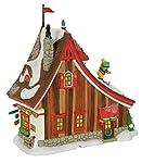 Department 56 North Pole Village Sugar Mountain Lodge Lit Building, Multicolored