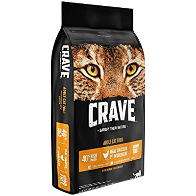 Cat Food CRAVE Grain Free High Protein Dry Cat Food [tag]