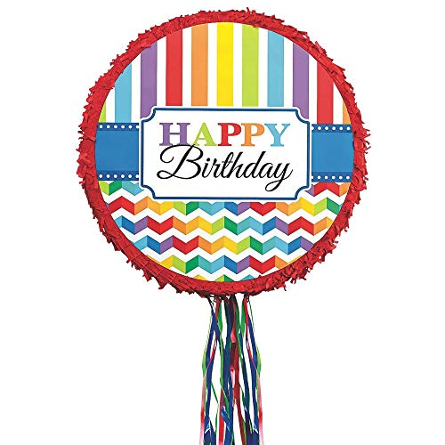 Happy Birthday Pull - Happy Birthday Pinata